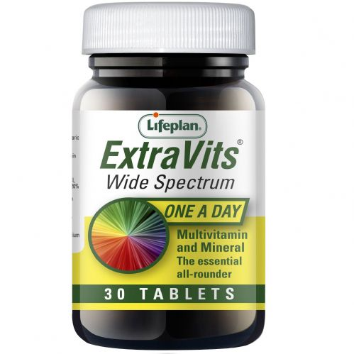 Lifeplan Extra vits -  Multi Vitamin 1 a day tablets